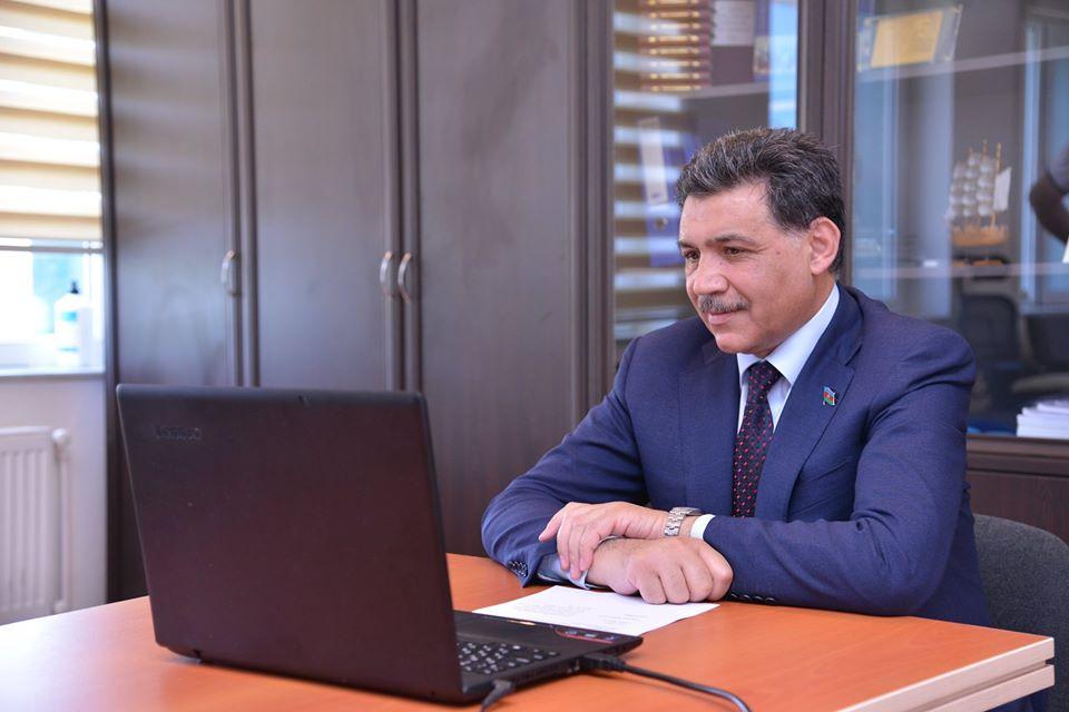 Aydın Hüseynov seçiciləri ilə onlayn görüşdü – Rakus.az